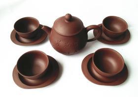 惠和陶艺紫砂工夫小品套壶