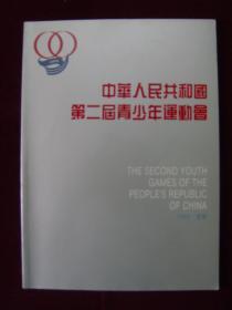 中华人民共和国第二届青少年运动会.1989辽宁(画册)