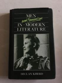 Men and Femimism in modern literature