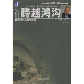 跨越鸿沟:颠覆性产品营销圣经【全新十品未开封】