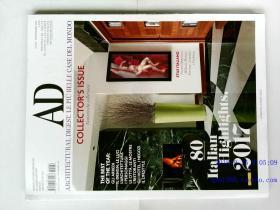 建筑辑要AD ARCHITECTURAL DIGEST 2017/11 欧式古典别墅 室内设计杂志