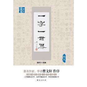 (19年教育部)汉字魔方    一字一世界. ST