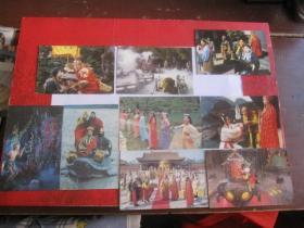 邮政明信片;共九张,一张有裂口(赠送)【中国山西长治】背面印刷字迹两种颜色