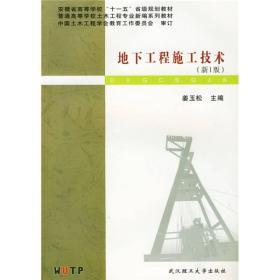 地下工程施工技术(第1版)