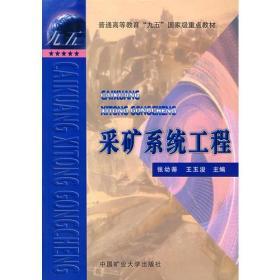 特价促销! 采矿系统工程张幼蒂 王玉浚9787810701129矿业大学出版社