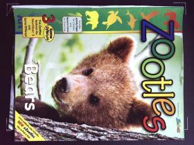 Zoobooks ZOOTLES Bears 英文儿童动物摄影熊杂志