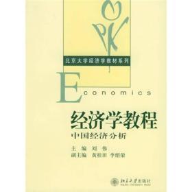经济学教程:中国经济分析——北京大学经济学教材系列