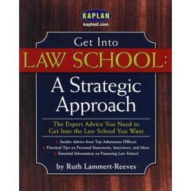 走进法学院(策略指南)Get Into Law School : A Strategic Approach
