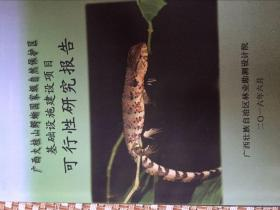 广西大桂山鳄蜥国家级自然保护区基础设施建设项目可行性研究报告
