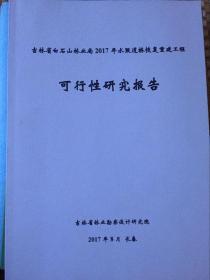 吉林省白石山林业局2017年水毁道桥恢复重建工程可行性研究报告