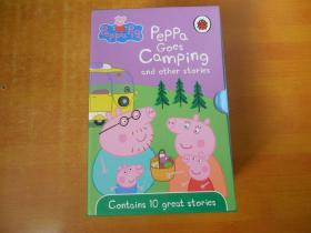 PEPPA PIP;PEPPA  GOES CAMPING AND OTHER STORIES 【外文原版 精装 10本合售 原函套】书名以图为准