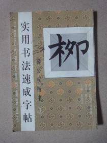 实用书法速成字帖: 柳公权楷书(1)