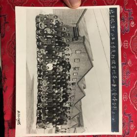 北京酿酒厂60年三季度红旗单位第四车间全体合影