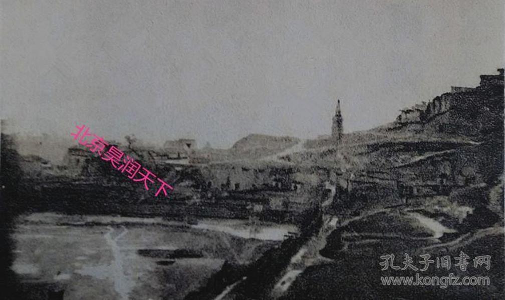 沙漠中的榆林古城 1937年6张