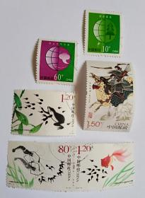 2013-13小蝌蚪找妈妈1.2元2枚80分1枚普30环境保护60分10分各1枚2014-23中华孝道1.5元1枚合售