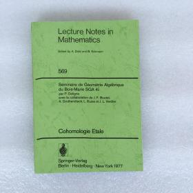 lecture notes in mathematics 569(英文版数学书 )