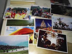 甘肃旅游系列邮资明信片(5) 甘肃自然风光明信片【十枚全 带函套】