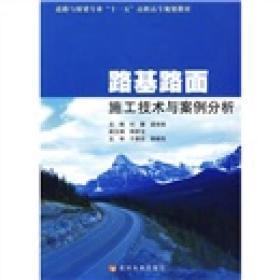 """道路与桥梁专业""""十一五""""高职高专规划教材:路基路面施工技术与案例分析"""