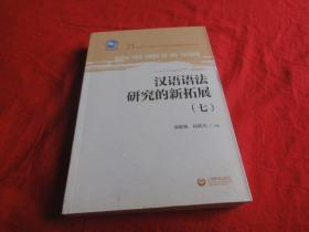 汉语语法研究的新拓展 (七)