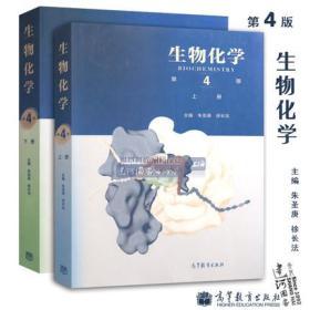 生物化学 第四版第4版 上下册两本套 朱圣庚 徐长法  考研指定用书 高等教育出版社生物化学第三版下册 上册升级版