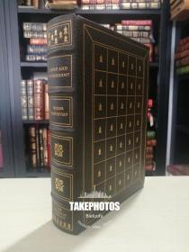Crime and Punishment 《罪与罚》dostoevsky 陀思妥耶夫经典作品 franklin library 1975年真皮精装 限量收藏版 世界永恒经典100本名著系列丛书之一