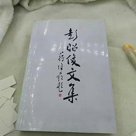 彭昭俊文集山东省高等学校书画研究会1999年一版一印仅印1000册