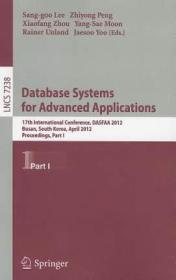 Database Systems for Advanced Applications: 17th9783642290374