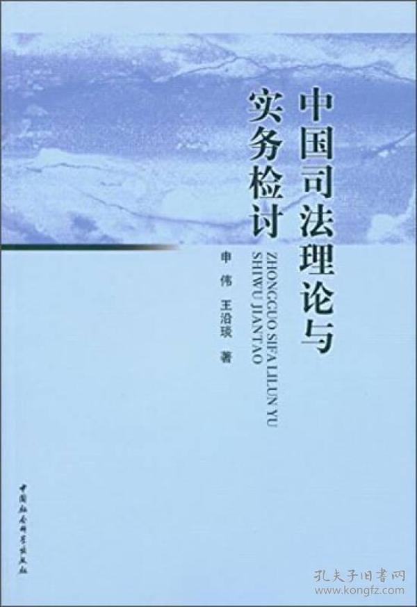 中国司法理论与实务检讨