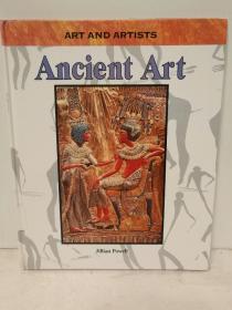古代世界的艺术 全彩图文画册 Ancient Art (Art and Artists)by Jillian Powell(古代史)英文原版书