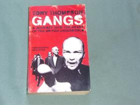 GANGS:A JOURNEY INTO THE HEART OF THE BRITISH UNDERWORLD