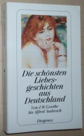 德语原版书 Die schönsten Liebesgeschichten aus Deutschland  von Fritz Eicken (Autor), Christian Strich (Autor)