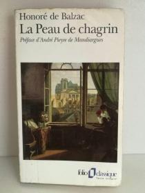 巴尔扎克:驴皮记  Honoré de Balzac:La Peau de chagrin (经典)法文原版书