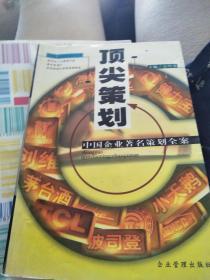 顶尖策划:中国企业著名策划全案