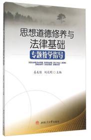 思想道德修养与法律基础专题教学指导 姜友维 9787564343224