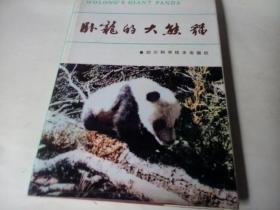 卧龙的大熊猫 1985年,16开精装