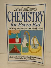 101个儿童趣味化学实验 Janice VanCleaves Chemistry for Every Kid : 101 Easy Experiments that Really Work (教材)英文原版书