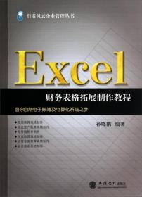 行者风云企业管理丛书:Excel财务表格拓展制作教程