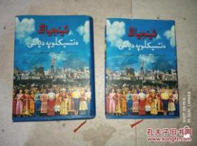 新疆百科全书 哈萨克文 上下册全 大厚册