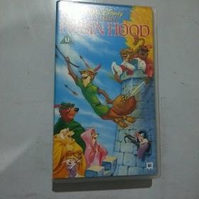 录像带  原版迪士尼 之罗宾汉Robin Hood