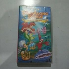 录像带  原版迪士尼动画   Sing-Along-Songs: Under the Sea