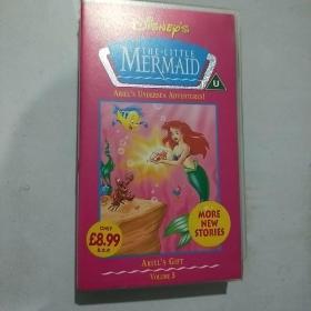 录像带  原版迪士尼动画《小美人鱼》     The Little Mermaid