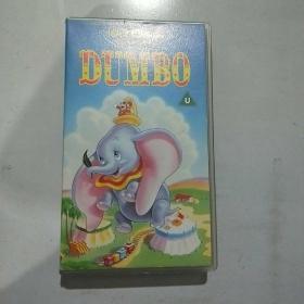 录像带 迪士尼儿童经典 小飞象DUMBO