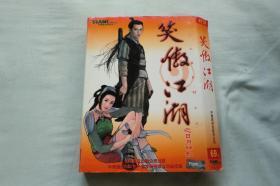 笑傲江湖之日月神教4CD+使用手册(光盘完好无划痕)看描述