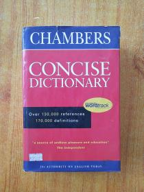 Chambers Concise Dictionary 钱伯斯简明词典(英文原版)