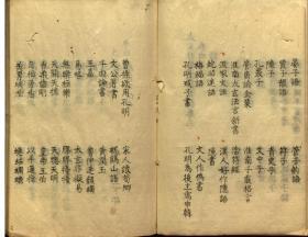 【复印件】太史升菴文集古籍线装10册