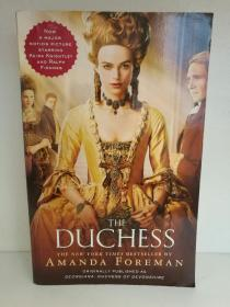 公爵夫人 Amanda Foreman:The Duchess (Randow 版)(电影原著) 英文原版书