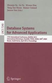 atabase Systems for Advanced Applications: 17th9783642290220