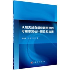 认知无线自组织网络中的可用带宽估计理论和应用