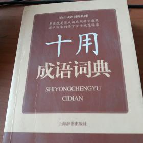 应用成语词典系列:十用成语词典
