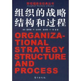 组织的战略、结构和过程